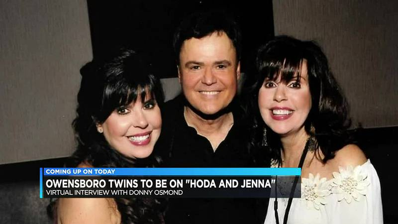 Owensboro sisters interview Donny Osmond on TODAY