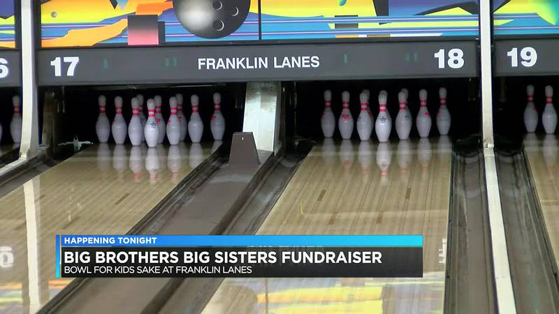 Big Brothers Big Sisters holding annual fundraiser at Franklin Lanes