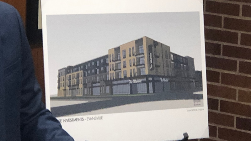 A new apartment complex going into the old IGA Building on North Main St. in Jacobsville.