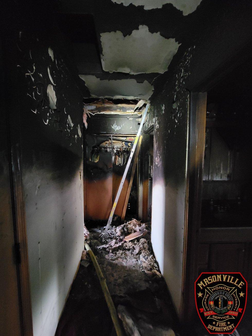 Masonville, Ky. house fire