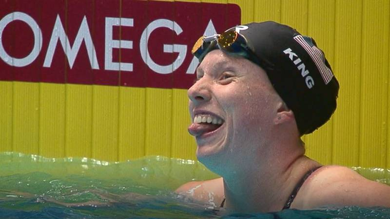 Lilly King advances to semi-finals at Team USA Swimming trials