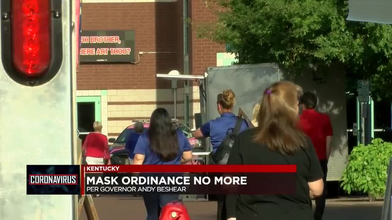 Outdoor event organizers react to Gov. Beshear's new mask ordinance