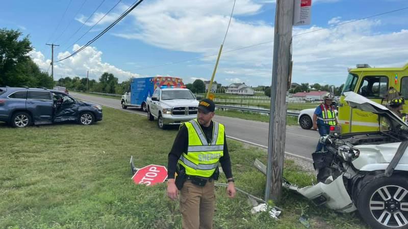 Warrick Co. crash