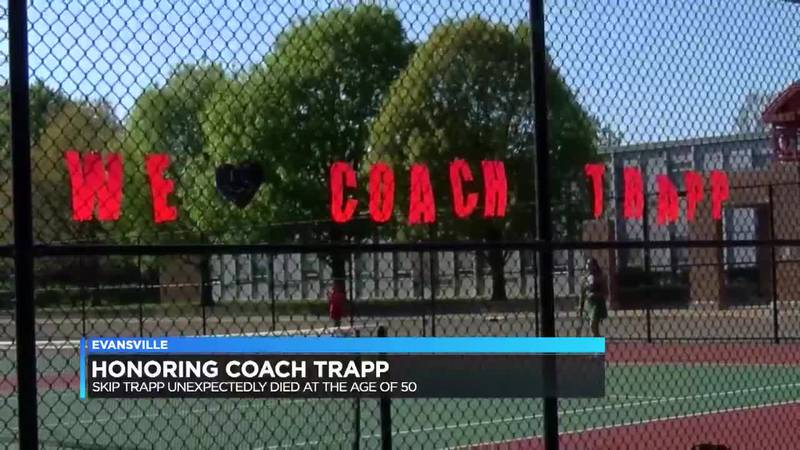 Harrison tennis head coach unexpectedly passes away, father fills position