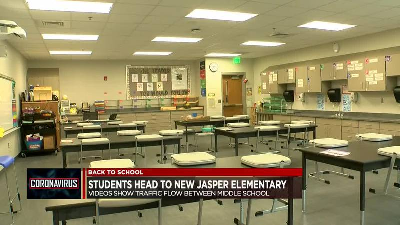 New Jasper Elementary welcoming students with plans in place to keep everyone safe