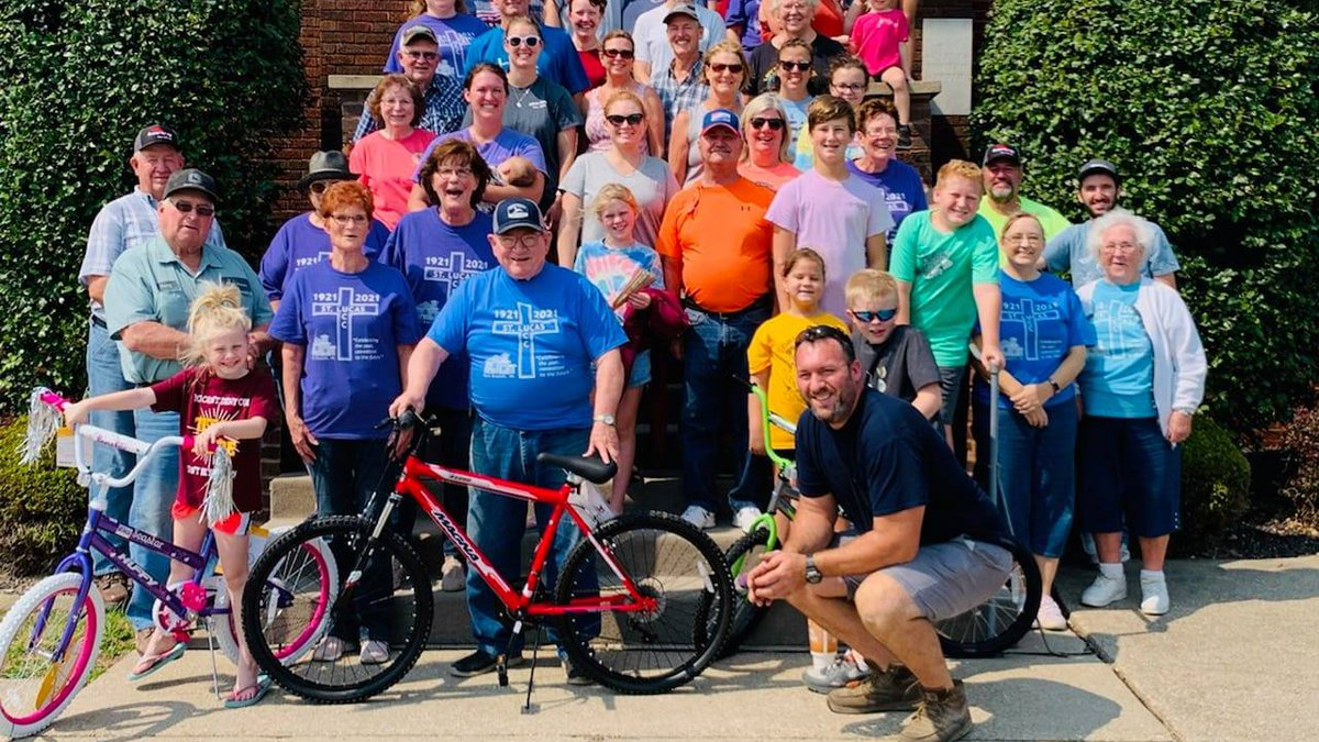 Volunteers with St. Lucas United Church of Christ in Fort Branch assembled and donated 100...