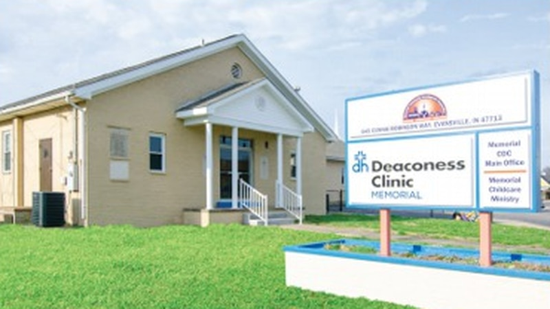 The ribbon will be cut on a new primary care clinic on Monday.