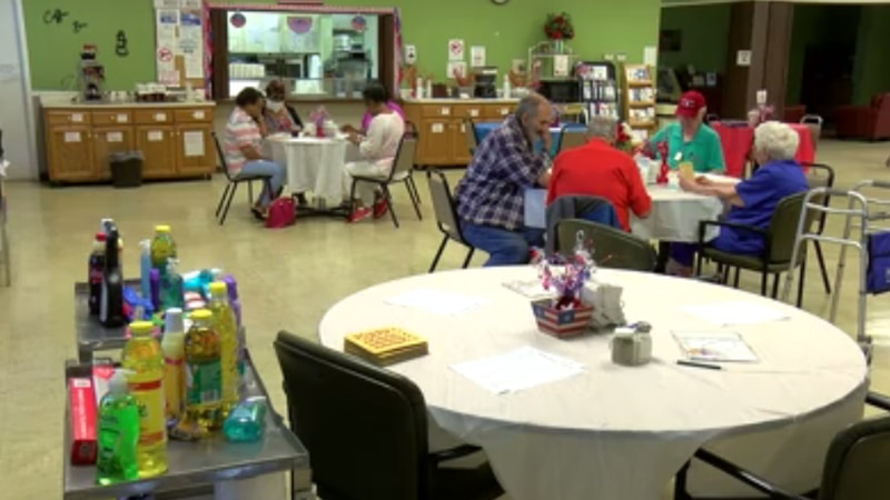 The Hopkins County Senior Center officially reopened its doors on Friday.