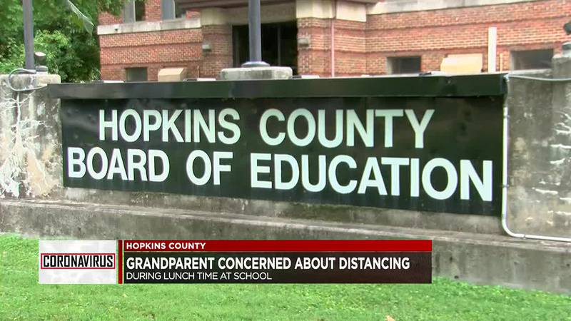 Hopkins Co. schools new social distance plan for lunch time