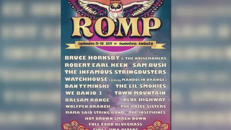 ROMP Music Festival releases lineup for Sept. event.