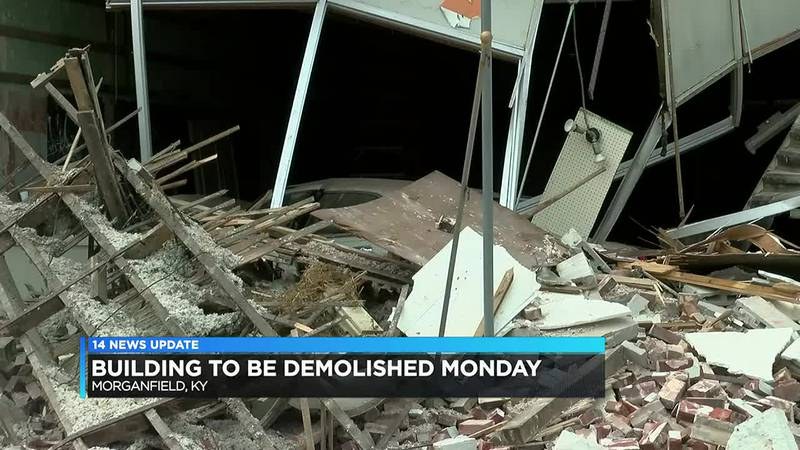 Morganfield building to be demolished