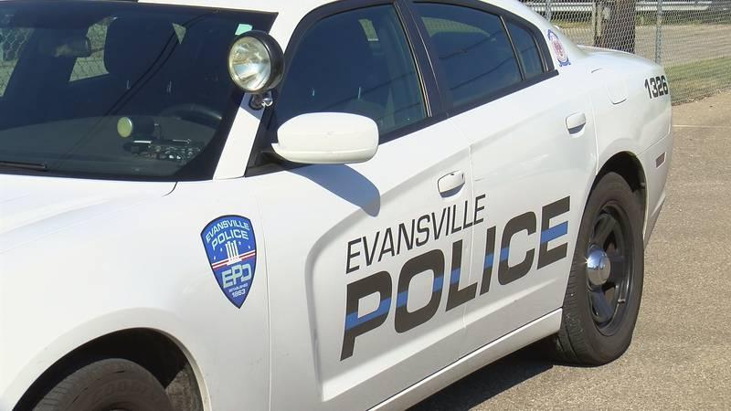 Police cruiser, Evansville Police Dept.
