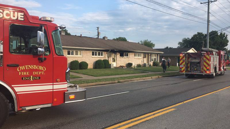 Dispatch confirms a structure fire broke out on Carter Road near Apollo Court in Owensboro on...