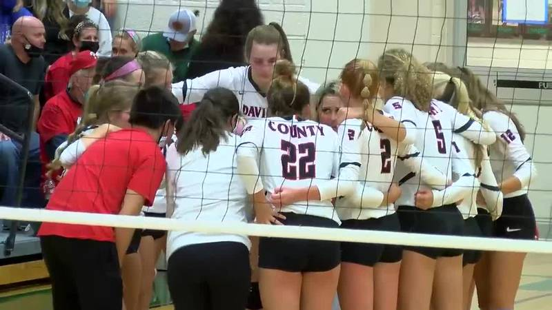 KHSAA 9th District Volleyball: Daviess Co. vs. Owensboro Catholic