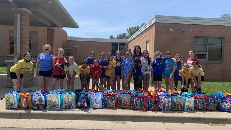 Newburgh students donate to local children in foster care
