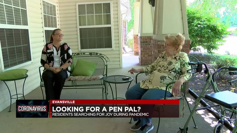 Evansville assisted living residents searching for pen pals during pandemic
