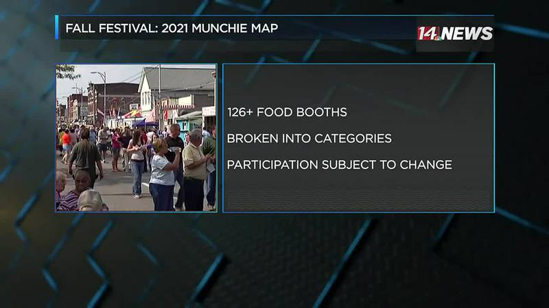 West Side Nut Club releases Munchie Map for 2021 Fall Festival