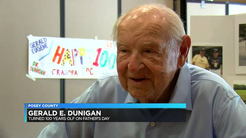Mt. Vernon man turns 100 this Father's Day.