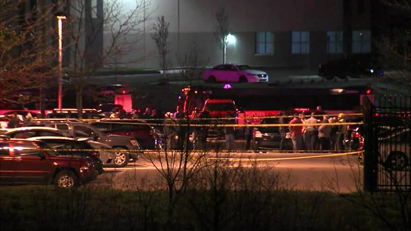 Authorities said the suspect started shooting soon after getting out of the vehicle Thursday...