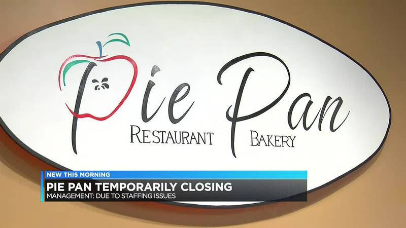 Pie Pan temporarily closing due to staffing issues.