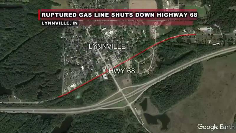 TRAFFIC ALERT: Highway 68 in Lynnville shutdown