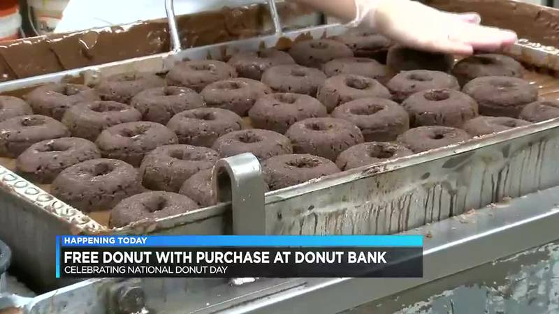 Friday is National Donut Day