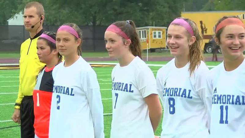 IHSAA 2A Girls Soccer Semistate Finals: Brebeuf Jesuit vs. Memorial