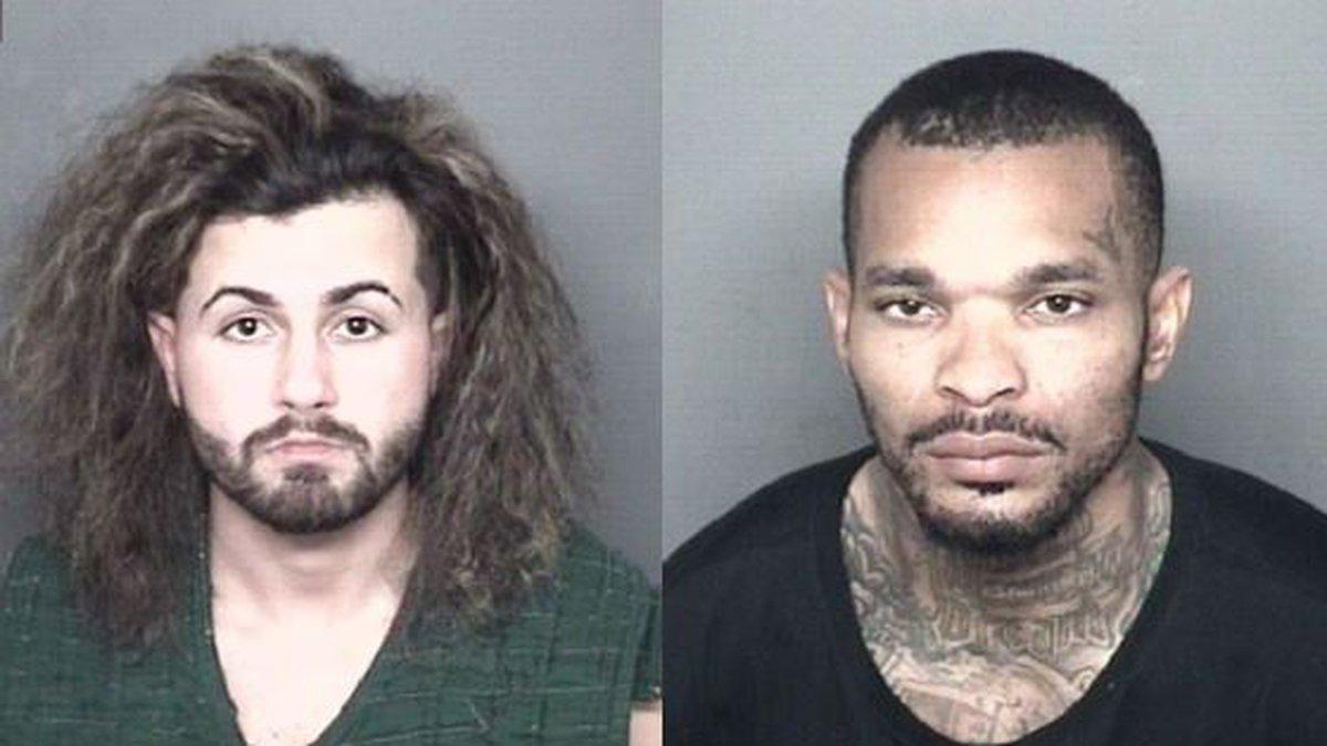 Matthew Hunter Bennett and Kendrick Dashawn Stevison (Source: Vanderburgh Co. Jail)