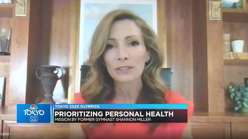 Former Olympic gymnast opens up about prioritizing personal health