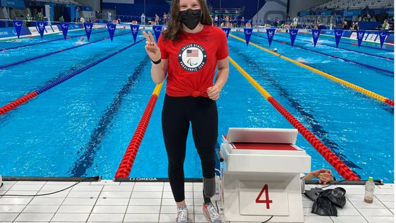 Evansville native Mikaela Jenkins is back in the United States after medaling twice in...