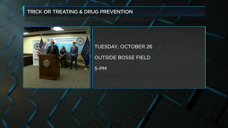 Feds and Vanderburgh Co. authorities plan trick-or-treating event