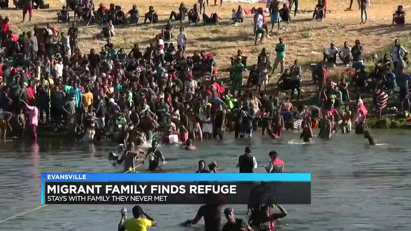 Migrant family finds refuge with Evansville family