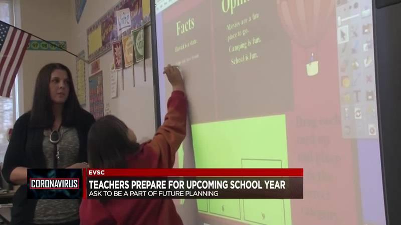 EVSC, teachers prepare for upcoming school year