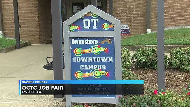 Job fair held in downtown Owensboro Tues. afternoon
