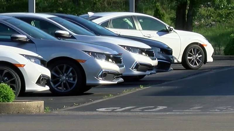 Chip shortage significantly impacts car lot stock across Tri-State